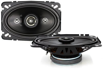 "15-Pr462 - Memphis 4"" X 6"" 2-Way 60W Rms Coaxial Speakers"