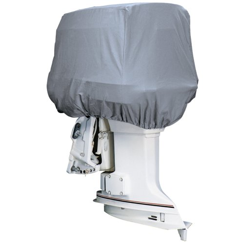 Attwood Road Ready™ Cotton Heavy-Duty Canvas Cover f/Outboard Motor Hood 50-115HP