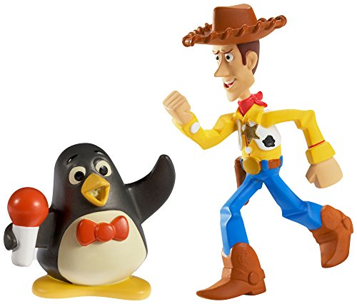 Disney/Pixar Toy Story 20th Anniversary Big Arm Woody and Wheezy Figure Buddy 2-Pack - 1