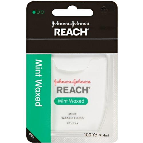 Johnson&Johnson REACH デンタルフロス9229 ミントワックス100ヤード