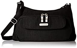 Baggallini Everyday Travel Crossbody Bag, Black, One Size
