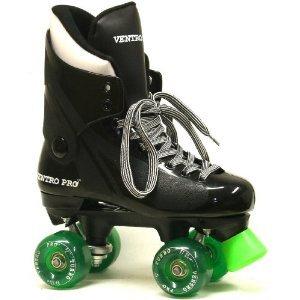 Ventro Pro VT01 Quad Roller Skates Green, 10 [Misc.]