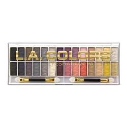 L.A. Colors 28 Color Eyeshadow Palette Kit - Malibu