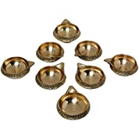SWS Brass Kuber Diya Brass Deepak Diwali Pooja Item - Deepawali Lighting Brass Oil Diya Diwali Decoration Pooja... - B01LAU1CS2