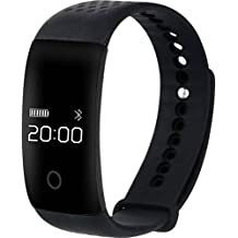 Pankh Smart Fitness Band HEART RATE MONITOR BLUETOOTH CALL NOTIFICATION 3D Pedometer Calorie Tracker Touch Button...