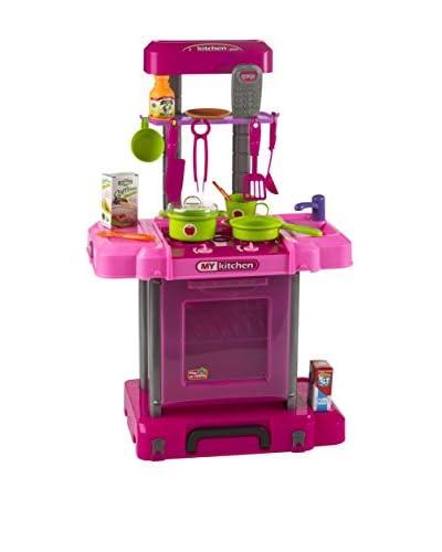 Color Baby  Cocina Eléctrica Portátil 18 Piezas
