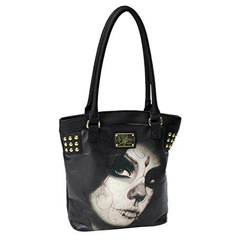 Sullen Angels Loved Tote Bag Womens Black Accessory