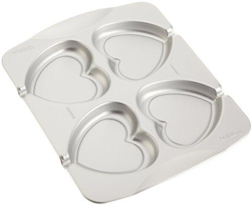 Wilton POPS Aluminum Heart Cookie Pan
