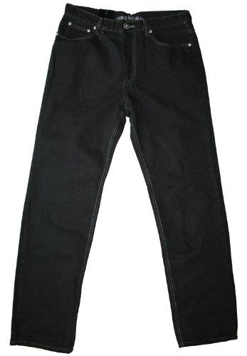 Urban Republic men's comfort fit black jean, 32W 32L