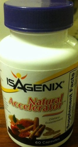 Isagenix Natural Accelerator 60 Capsules Lose Weight Diet Brand New