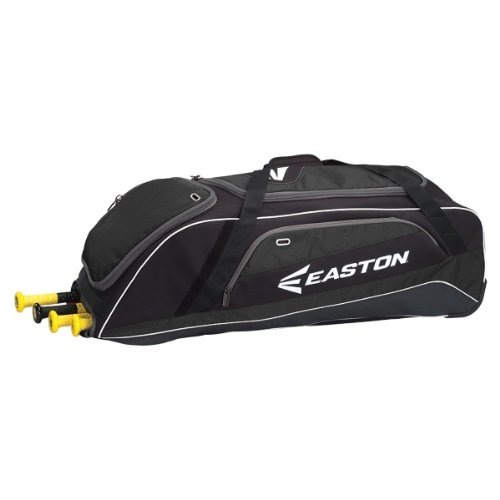 Easton E500W Wheeled Bag, Black (Wheeled Hockey Bag compare prices)
