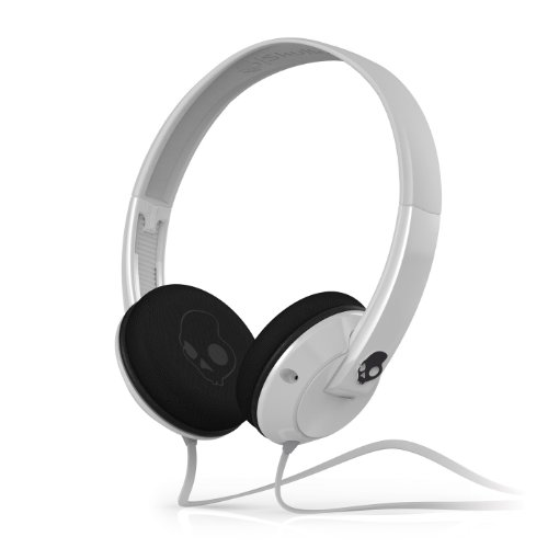 Skullcandy Uprock 2.0 On-Ear Headphones - White/Black