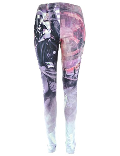 Star Wars -  Leggings  - Donna Pink-Mehrfarbig X-Large