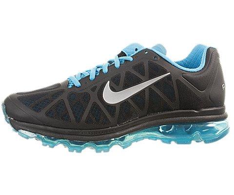 half off aec3e d3a90 Nike Mens Air Max 2011 429889 040 Black Metallic Silver Chlrn Blue Mens  Shoes 429889 040 13