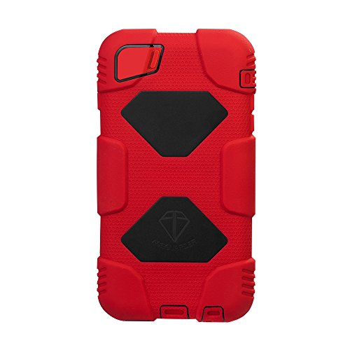 ACEGUARDERBest iphone 6 Case (Slim Military Heavy Duty)Shockproof Anti-Rain Drop Resistance Silicone Cover with detachable belt clip and screen protector for Apple iphone 6 4.7¡± [Red/Black] (Carbon Fiber Iphone 6case compare prices)