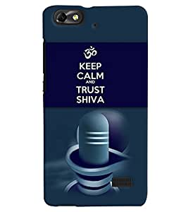 PRINTVISA Religious Shiva Quotes Case Cover for Huawei Honor 4C