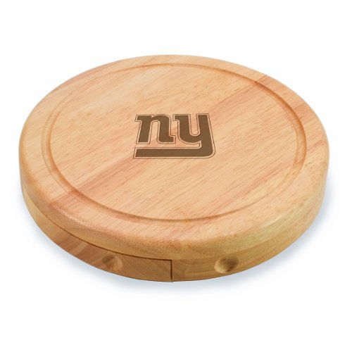 NFL New York Giants Brie Cheese Board/Tool Set, 7-1/2 Inch