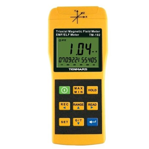 Tenmars TM-192 3-Axis EMF Meter Magnetic Field Meter TM192
