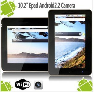 10 inch ZT-180 Android 2.2 Touch Apad Epad Tablet PC