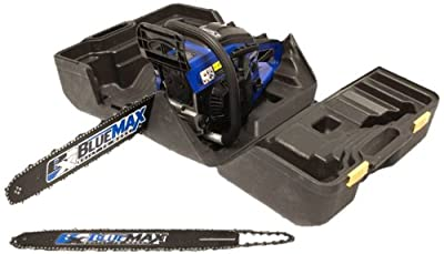 Blue Max 8902 14-Inch 45cc 2-Stroke Gas Powered Chain Saw With Free 20-Inch Bar