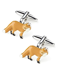 Blue Harbour Fox Cufflinks