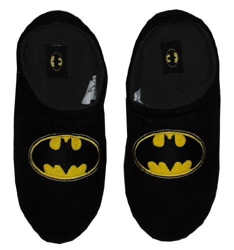 Cheap Batman DC Comics Logo Superhero Mens Slippers (SHOEM17)