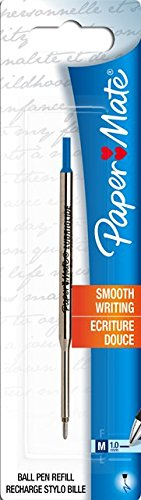 paper-mate-lubriglide-refill-medium-tip-10mm-for-paper-mate-flexgrip-ball-pen-blue
