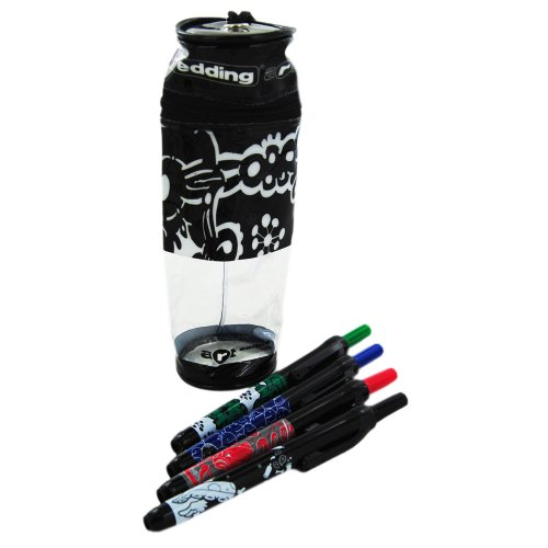 Graffiti Chill Pencil Case – Edding Art Series (4 Markers)