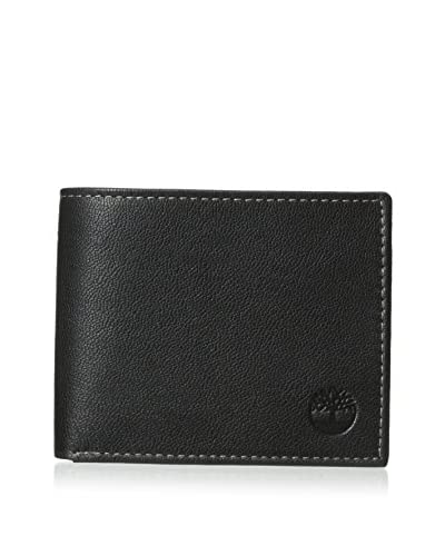 Timberland Men's Blix Leather Passcase, Black
