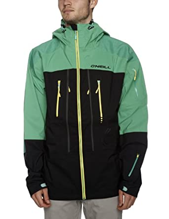 O'Neill Explore Jones 3 Layer Men's Jacket Mundaka Green Medium (Old Version)