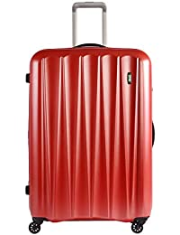 Lojel Essence Large Upright Suitcase, Gold Red