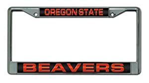 Buy NCAA Oregon State Beavers Laser Chrome Frame by Rico
