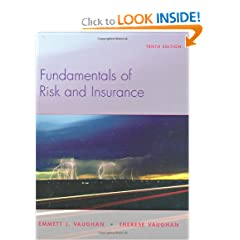 Fundamentals of Risk and Insurance (9780470087534)