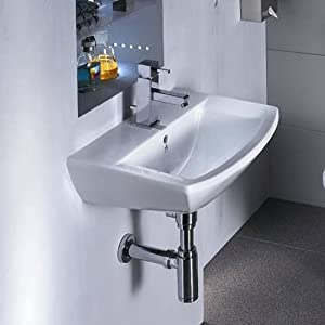 Nca205 hudson reed lavabo monotrou meuble mural - Amazon meuble salle de bain ...