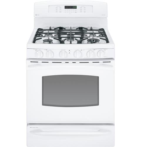 GE-PGB930DETWW-Profile-30-White-Gas-Sealed-Burner-Range-Convection