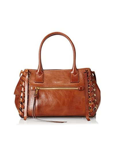 Marc Jacobs Women's The Not So Big Apple Handbag, Brown
