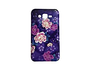 Colorcase Soft Silicon Back Cover Case for Samsung Gaaxy J7