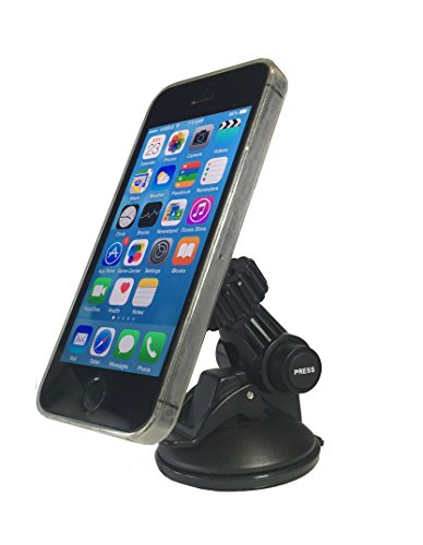 Bovee Universal Smartphone and Tablet Car Mount for Any Device Any Size - Dashboard and Windshield Car Mount for iPhone 6 / 6+, 5s / 5c , 4s, iPad / iPad 2 / iPad Air, iPad mini, Galaxy S6/5/S4/S3, No