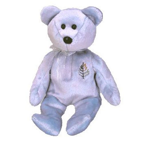 TY Beanie Baby - ISSY the Four-Seasons Hotel Bear ( Doha ) (8.5 inch)