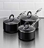 3 Piece Aluminium Saucepan Set