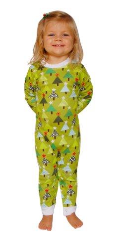 Sleepytimepjs Infant Christmas Pajamas-Tree-6M front-849673