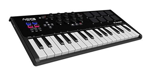 photo M-Audio Axiom Air Mini 32 - Clavier Maître USB MIDI 32 Touches AfterTouch avec 8 Pads Dynamiques et Sensibles + Logiciels Ignite et Pro Tools Express