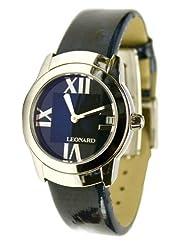 Leonard Women's SP2Q100/45/0520 Sphere Navy Patent Leather Watch