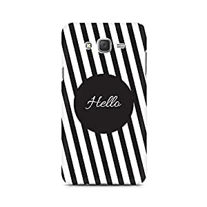 Ebby Hello Premium Printed Case For Samsung J7