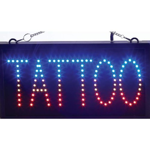Best Quality Tattoo Programmed Led Sign By Mitaki-Japan™ TATTOO Programmed LED Sign
