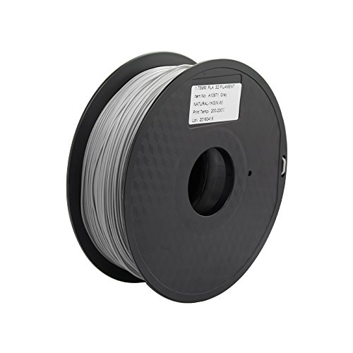 Anycubic Stampante 3D PLA Filament 1.75mm - 1kg bobina (2,2 lbs) - Precisione Dimensionale +/- 0,02mm (Grigio)