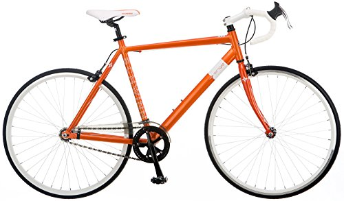 Schwinn Single 700C Fixed Gear Road Bike, Orange