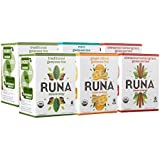 RUNA Clean Energy Organic Guayusa Tea Box, Variety Pack, 96 Count Tea Bags