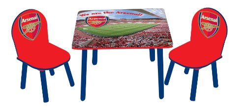 Arsenal Children's Wooden Table and Chairs