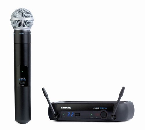 Shure Pgxd24/Sm58-X8 Wireless Microphones